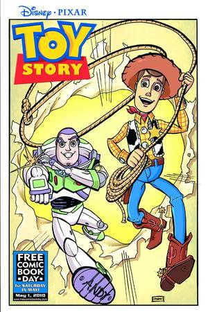Toy Story  by  Written by Jesse Blaze Snider; Art by Nathan Watson