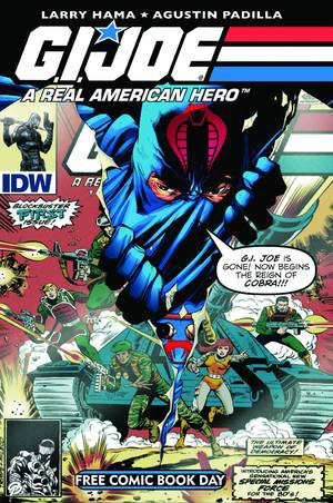 G.I. Joe: A Real American Hero #155 1/2  by  Written by Larry Hama; Art by Agustin Padilla